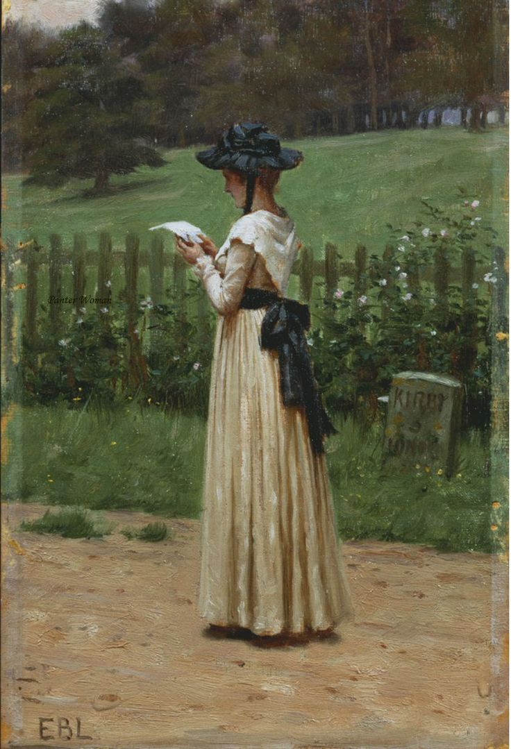 The Love Letter - Edmund Blair Leighton