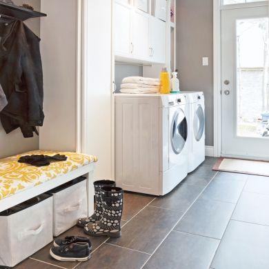 Salle de lavage comme zone de transition - Salle de bain - Inspirations - Décoration et rénovation - Pratico Pratique