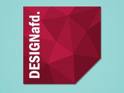 New logo for @DESIGNafd.. Self promotion