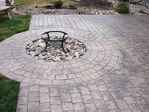 Samu0027s Club Patio Furniture | Stamped Concrete Patios In Fargo