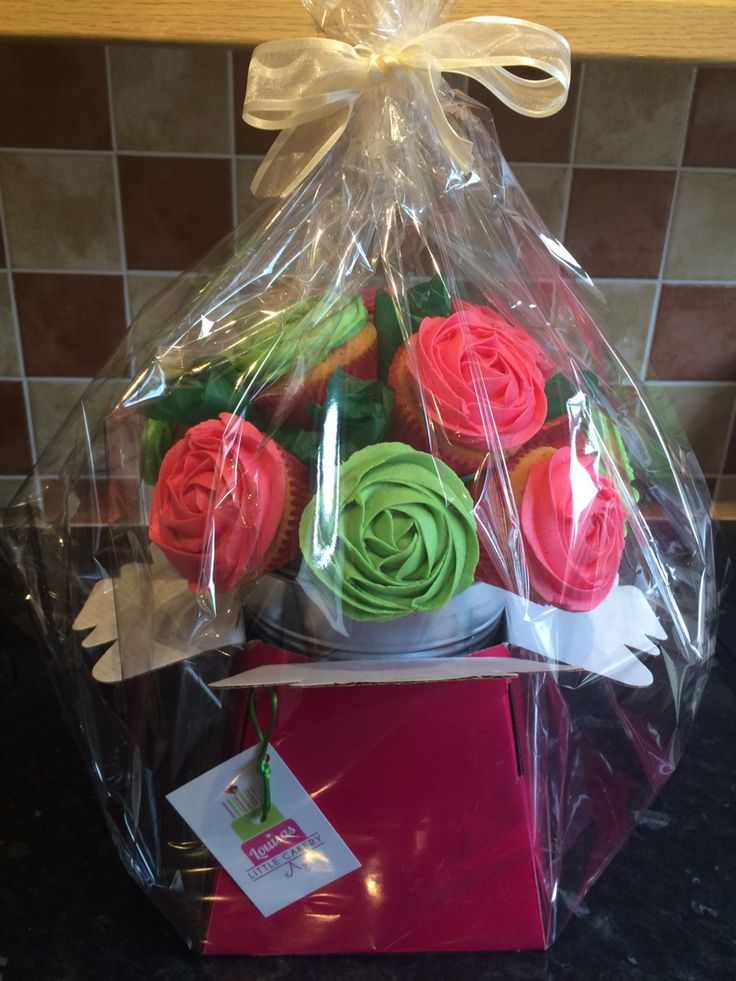 Mother's Day/Teachers thank you cupcake bouquet.