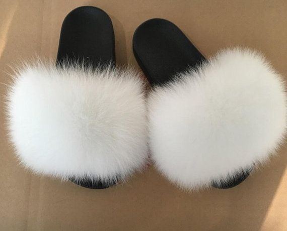 Faux fur slides, Fur slide