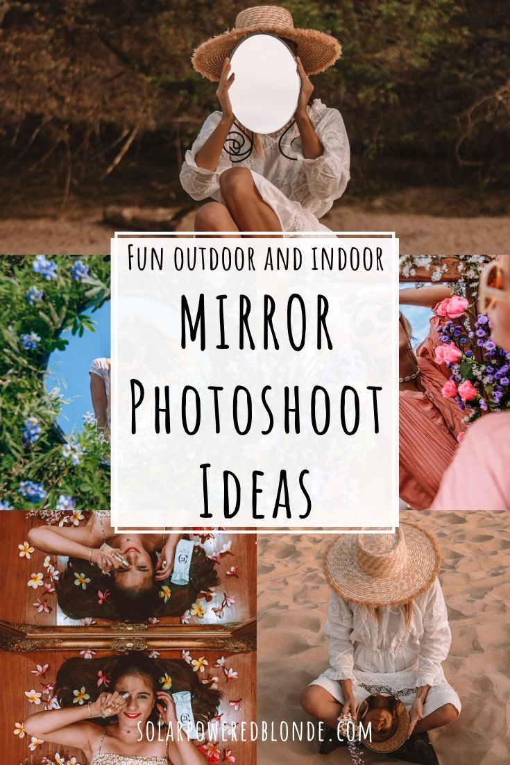 Creative Mirror Photography Ideas and Tips   Mirror photography ...
