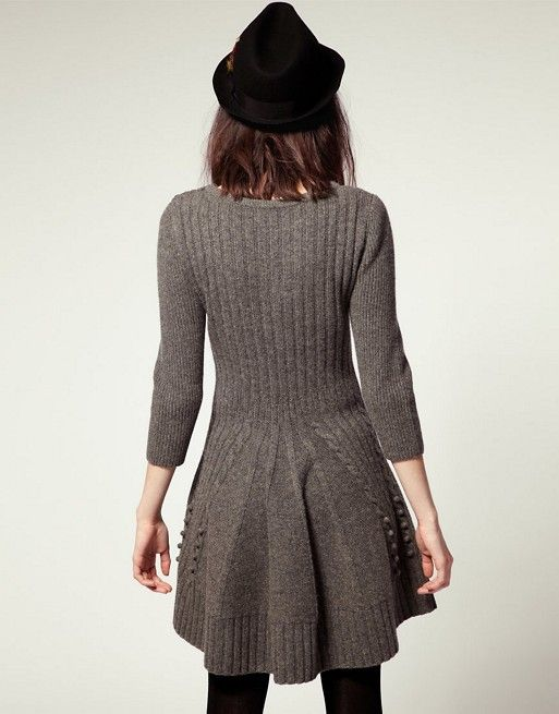 Nw3 By Hobbs Hills Knit Dress With Skater Skirt Dresses
