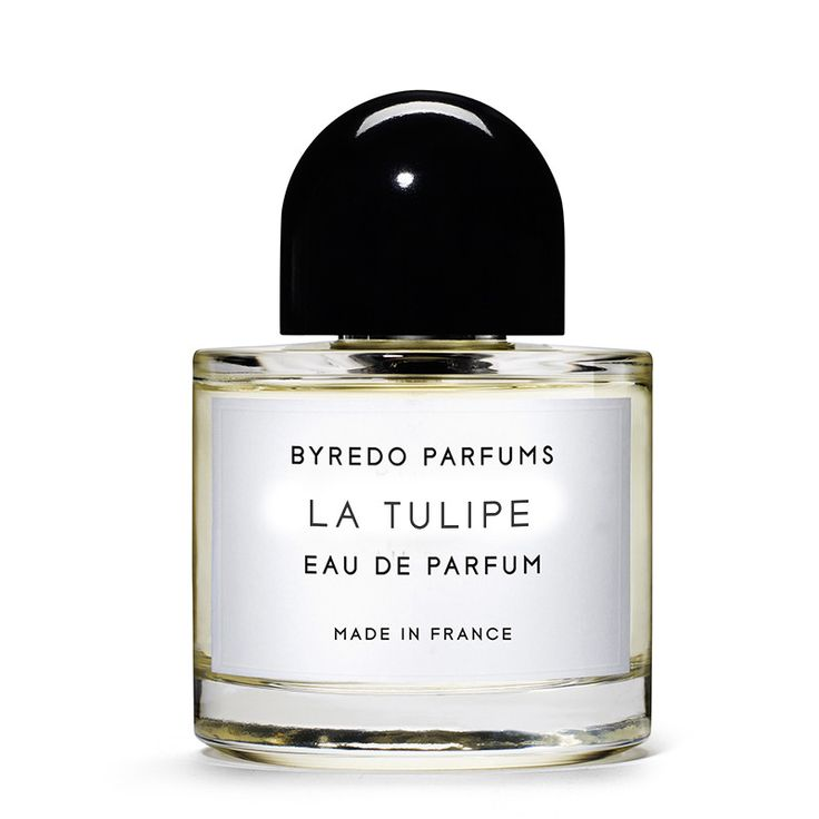 La Tulipe by Byredo is built around the idea of the tulip - a flower reminiscent of morning moist gardens and by being one of the season's first flowers to open its bud; the tulip has become a symbol for the rebirth of spring. #spring #scent #tulip #fragrance #niche #perfume #byredo #aedes #perfumery #westvillage