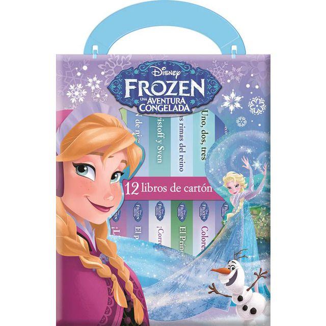 Pil Publications International Iberia Mi Primera Libreria Frozen M1l Actividades De Disney Juguetes De Peppa Juguetes De Barbie