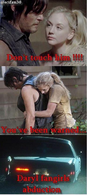 The Walking Dead Daryl Dixon / Beth Greene 2014