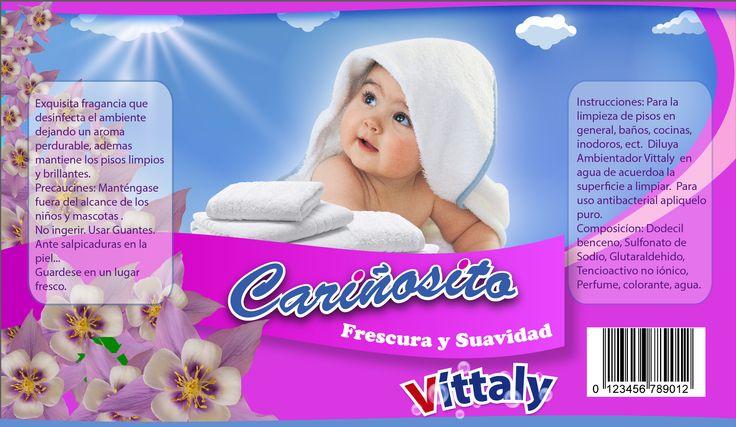 Etiqueta Suavizante para ropa para Vittaly ( sin la info original)