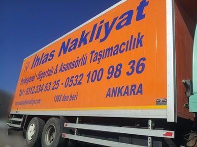 Ankara nakliye - Şehirler arası nakliyat