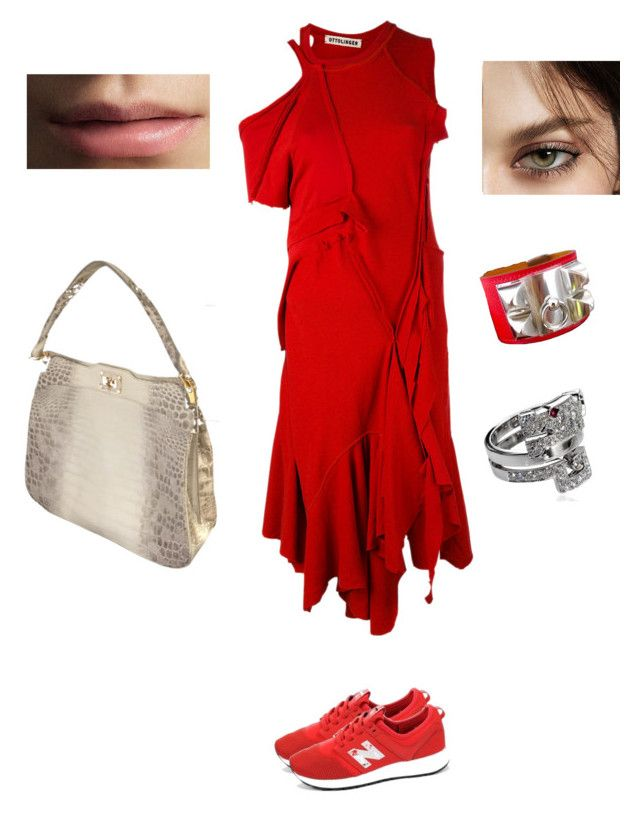 """""""Invpra"""" by pasha21 on Polyvore featuring Ottolinger, New Balance and Burberry"""