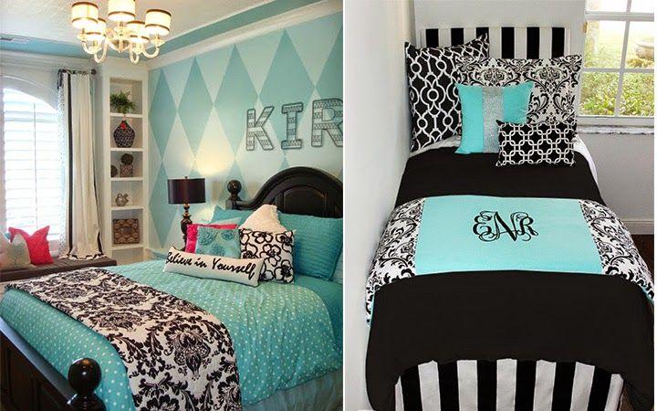 decoração quarto tiffany e preto Pesquisa Google  ~ Quarto Rosa E Azul Tiffany