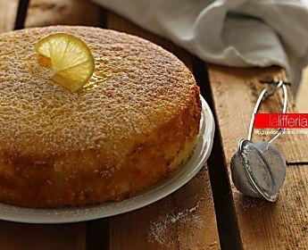 Torta al limone senza burro sofficissima