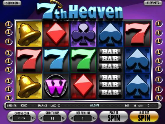 7th Heaven Slot Machine. Play this amazing 5-reel slot game at SweetBet
