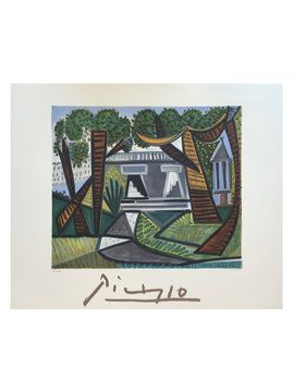 Le Vert Galant by Pablo Picasso (Lithograph) from Mediterranean Style on Gilt