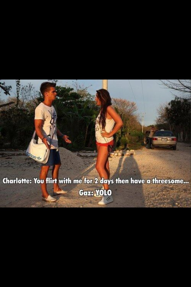Gaz and Charlotte Geordie shore