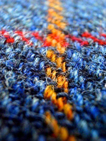 Brilliant Harris Tweed Colours  by Harris Tweed Hebrides