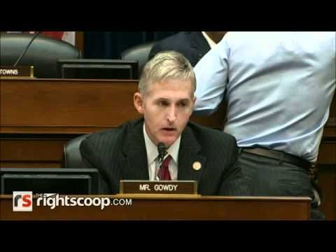 This is what I've been waiting for. After hours of feigned outrage and different maneuvers from Democrats to try and stop the contempt hearing, Rep. Trey Gowdy finally took his turn and passionately laid out the case for why there is no more time for AG Eric Holder, noting the proof that high level officials in the DOJ knew about gunwalking well before Brian Terry was murdered.