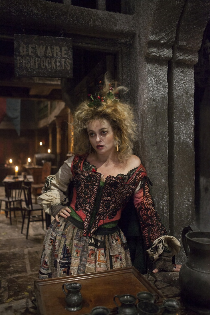 Madame Thenardier | Helena Bonham Carter... Yes she did play Bellatrix Lestrange in Harry Potter. I'm such a movie nerd