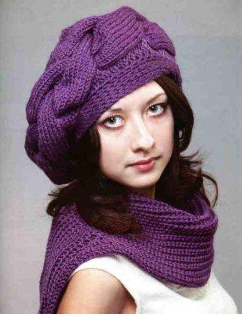 Knitting, Берет Связанный