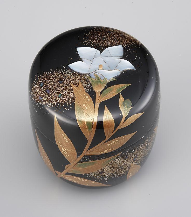 Japan, Wajima-nuri lacquerware Tea Caddy