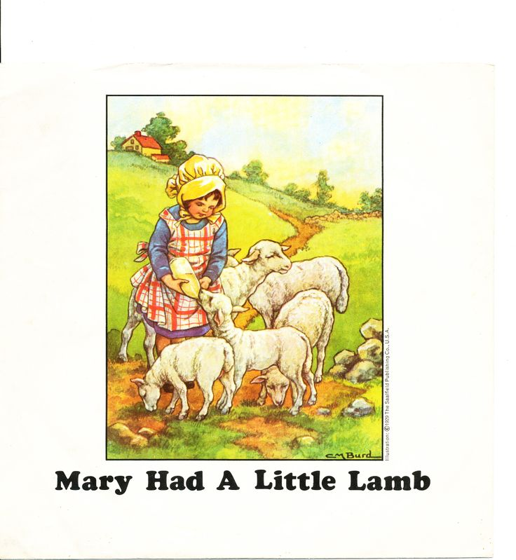Paul Mccartney Amp Wings Quot Mary Had A Little Lamb Quot Picture