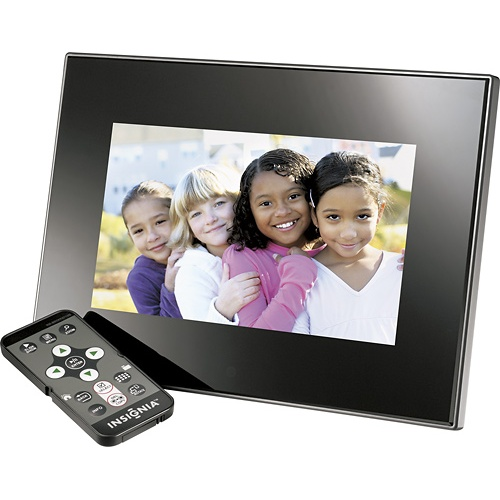"Digital 7"" Insignia photo frame, $39.99 Best Buy"