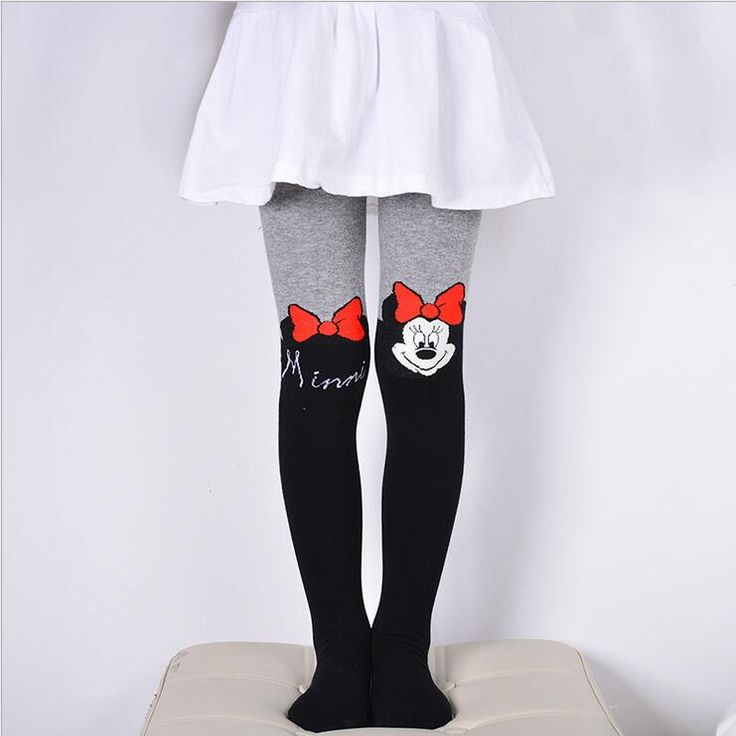 Cool VEENIBEAR 2017 New Cotton Girl Tights Embroidery Cartoon Kids Children Pantyhose Spring Tights For Girls 3-10 T - $ - Buy it Now!