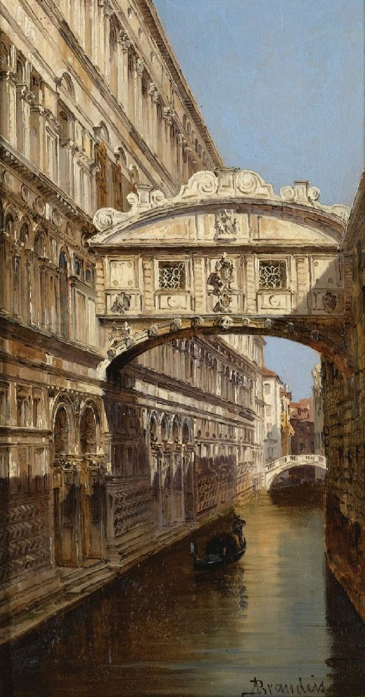 Antonietta Brandeis, Bridge of Sighs, Venice