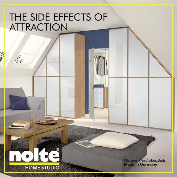 Ideal The side effect can ut take your eyes of it attraction bedrooms cabinets wardrobes noltebedrooms noltewardrobes nolte india noltehomestudio