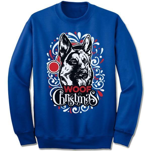 German Shepherd Christmas Sweater.German Shepherd Ugly Christmas Sweater Products Fleece