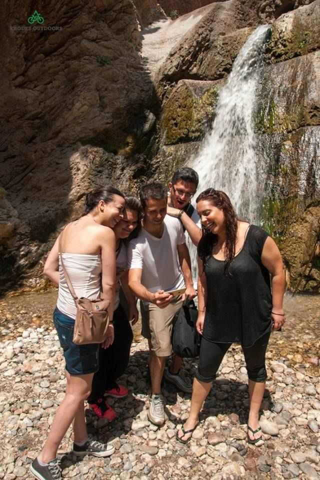 Xtripiti WaterFall Malona village Rhodes isl. #RhodesOutDoors