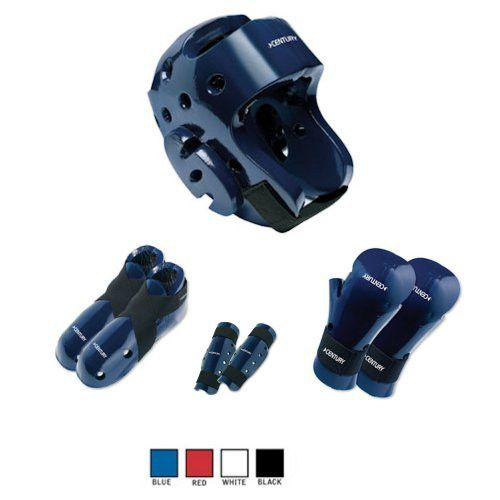 Century Karate Sparring Gear Combo Set with Shin Guards