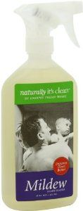 Naturally It's Clean Mildew, 16-Ounce (Pack of 6) by Naturally It's Clean. $27.34. Without chlorine bleach. Rapidly biodegrades the surface clean. Unique blend plant-based Enzymes. Safely cleans, deodarizes, and removes mold and mildew stains from all water washable surfaces including fabric, grout, ceramic tile, marble and all natural stone, and plastic. It is pH neutral and cleans with a unique blend of plant-based enzymes that rapidly biodegrades the surface clean, ...