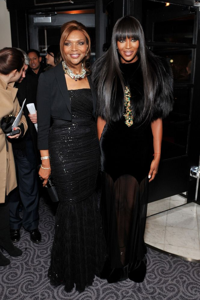 Valerie and Naomi Campbell