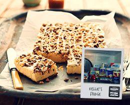 Kellies Caramel Cheesecake Slice Recipe