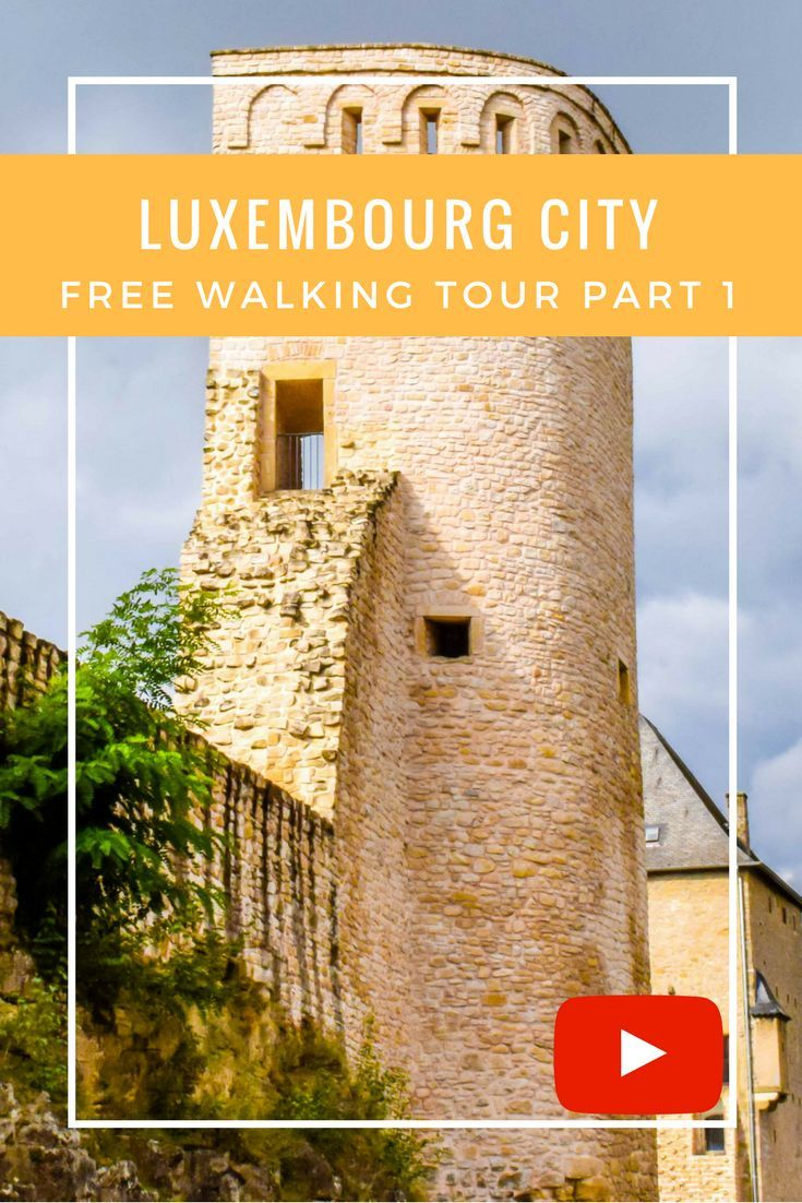"""Luxembourg City is a perfect place for a self-guided walking tour.  This VLOG covers the """"Wenzel Walk"""" which takes in some breathtaking views over the Luxembourg Fortress. Also the VLOG shows inside the Bock Casemates, a literal rabbit warren of fortifications built into the terrain at side of the Alzette River. This truly is an eye-popping place to visit, and as an added bonus it can be seen as a free self-guided tour."""