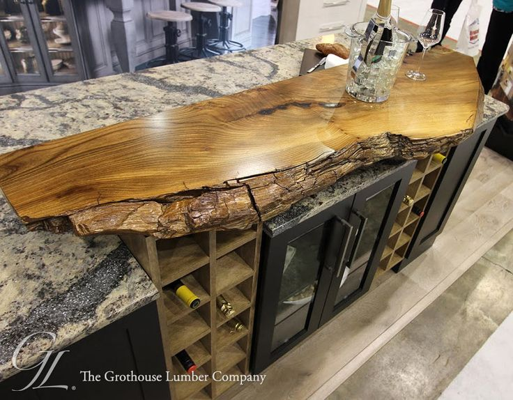 28 best live edge wood countertops images on pinterest for Finishing live edge wood