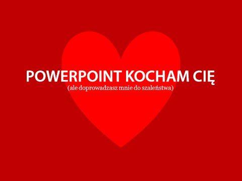Webinar: Powerpoint Kocham Cię, ale doprowadzasz mnie do szaleństwa - YouTube