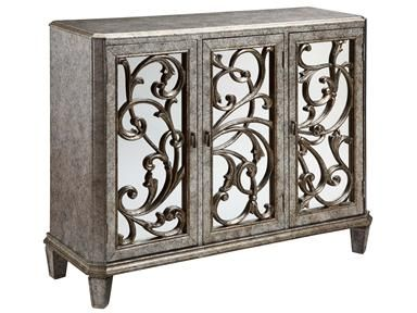 Good Shop For Stein World Leslie 3 Door Mirrored Cabinet, 12398, And Other Living