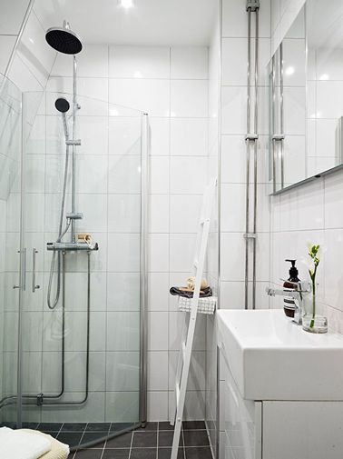 104 best Salle de bain images on Pinterest Bathroom, Bathrooms and - prix carrelage salle de bain