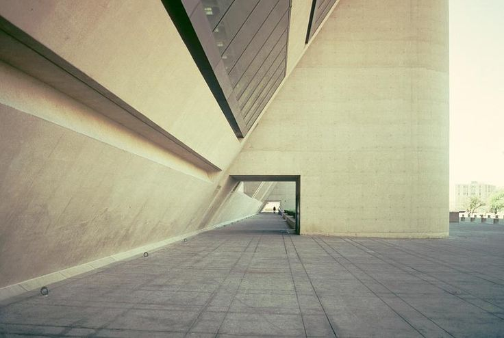 Images of the Dallas City Hall by I. M. Pei