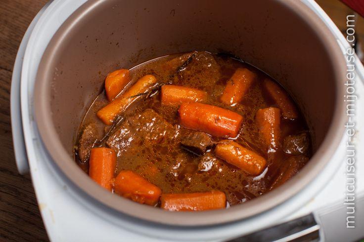 Boeuf carottes au multicuiseur Plus