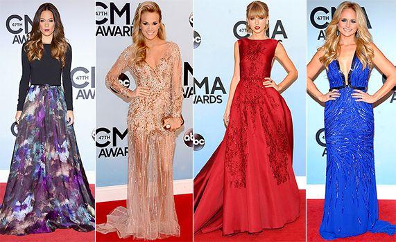 2013 Country Müzik Ödülleri Kırmızı Halı