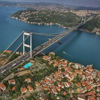 Wow! There aren't even words to describe how incredible beautiful this view really is! If you've yet to visit the enchanting city of Istanbul that serves as a bridge between continents, you're really missing out!