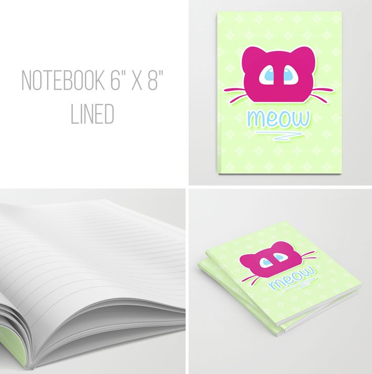 """NOTEBOOK SET OF 3 6"""" X 8"""" LINED"""