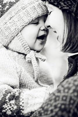 Mother & child photo idea