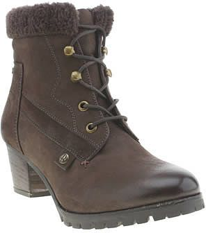 Womens dark brown boots from Schuh - £85 at ClothingByColour.com