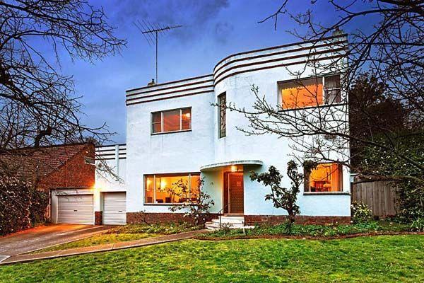Art Deco Period Homes Australia Australian Period Homes Art