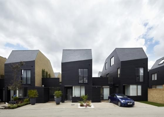 Newhall Homes in Harlow, Essex by Alison Brooks