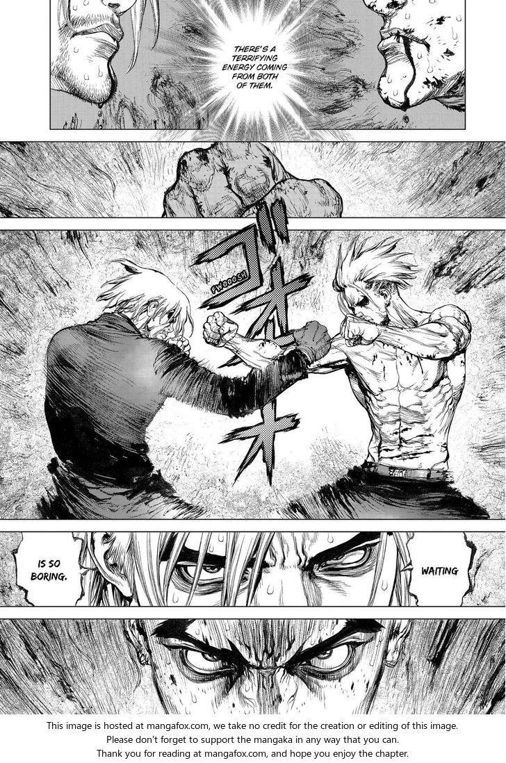Sun Ken Rock Anatomy Fighting Scene Comic Col Maybe Ferno And Kei